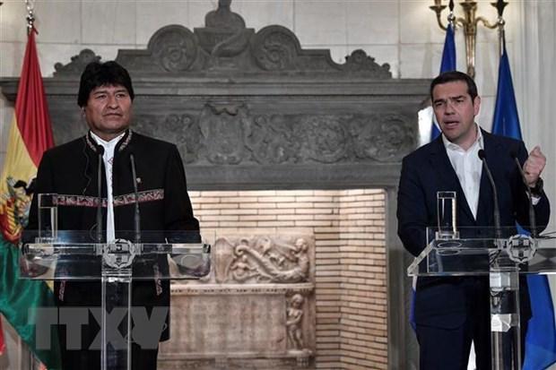 Hy Lap, Bolivia keu goi giai quyet khung hoang Venezuela qua doi thoai hinh anh 1