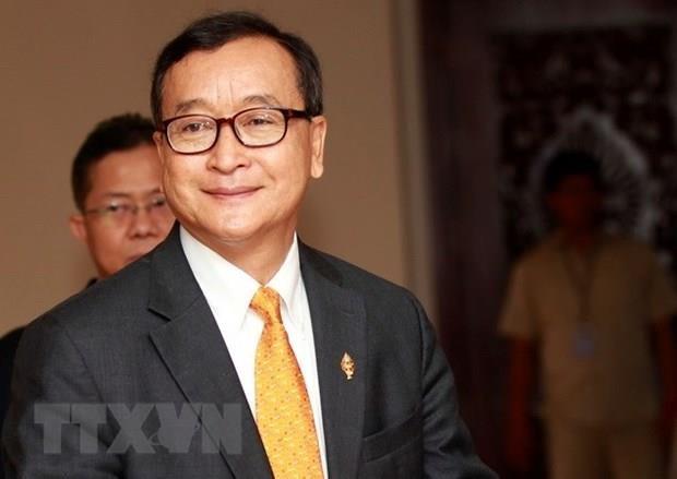Toa an Campuchia gui trat bat giu quyen Chu tich CNRP Sam Rainsy hinh anh 1