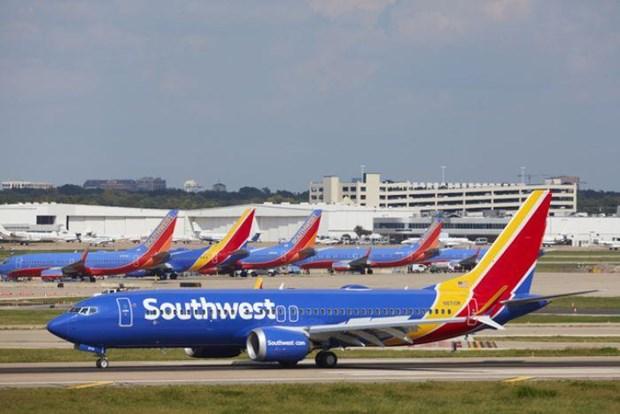 May bay Boeing 737 MAX lai gap su co, phai ha canh khan cap o My hinh anh 1