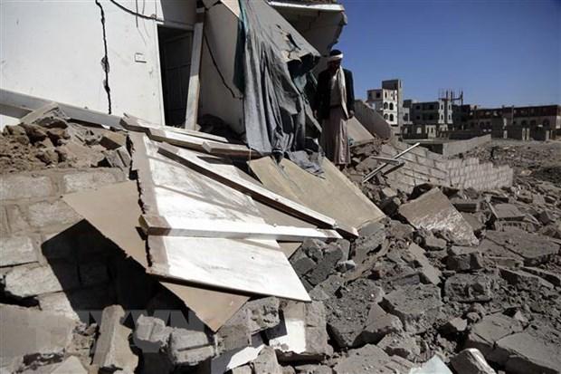 Yemen: Khong kich vao benh vien khien it nhat 7 nguoi thiet mang hinh anh 1