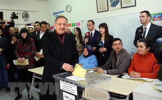 Tho Nhi Ky: Dang AKP khieu nai ket qua kiem phieu o Istanbul hinh anh 1
