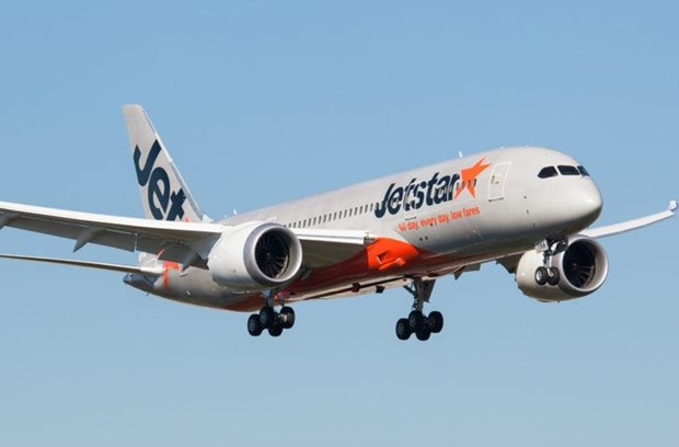 Mot may bay Boeing 787 cua Jetstar Airways gap su co ve dong co hinh anh 1
