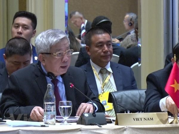 Viet Nam tham du hoi nghi quan chuc quoc phong cap cao ASEAN hinh anh 1