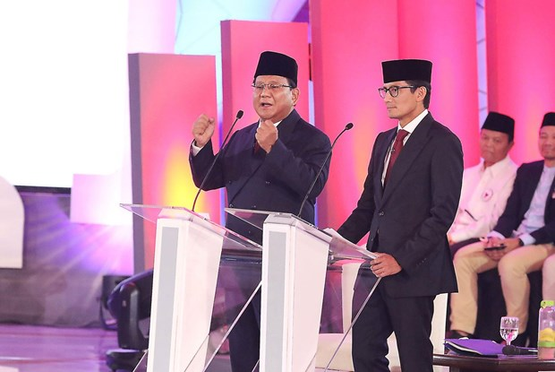 Indonesia: Cac ung vien gap rut van dong truoc them bau cu tong thong hinh anh 1