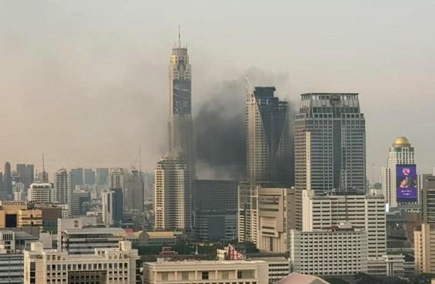 [Video] Toan canh vu chay trung tam thuong mai Central World o Bangkok hinh anh 1