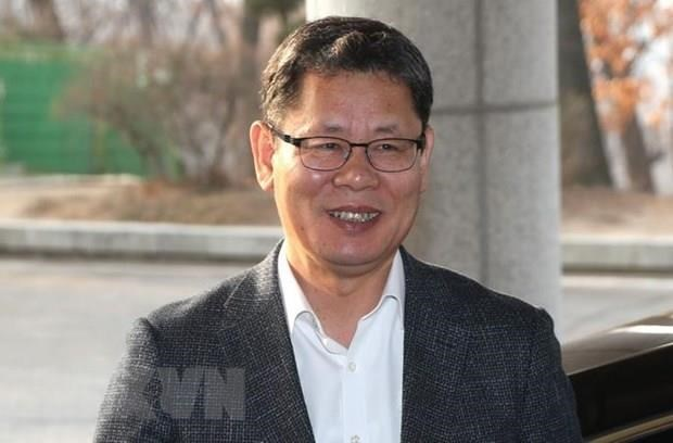 Han Quoc: Bo truong Thong nhat tham trung tam doan tu gia dinh ly tan hinh anh 1