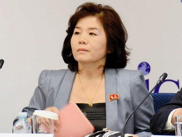 Ba Choe Son-hui la Thu truong thu nhat Bo Ngoai giao Trieu Tien hinh anh 1