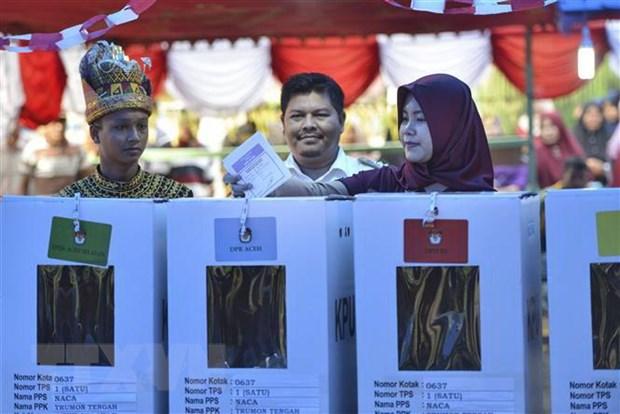 Indonesia: Chien dich giam gia nham khuyen khich cu tri di bo phieu hinh anh 1
