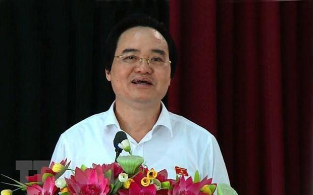 Ong Phung Xuan Nha: Se buoc thoi hoc thi sinh co lien quan gian lan hinh anh 1