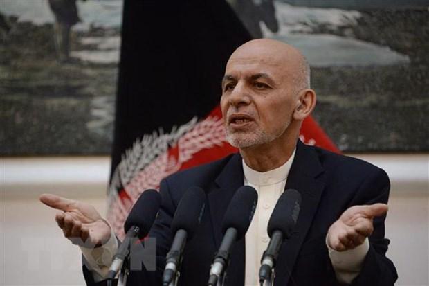 Tong thong Afghanistan keu goi nghi sy tham gia hoa dam voi Taliban hinh anh 1
