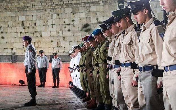 Israel tuong niem nhung nguoi linh tu tran va nan nhan khung bo hinh anh 1
