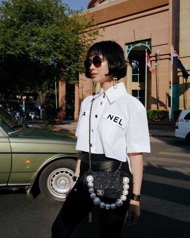 Cung ngam street style phong khoang cua my nhan Viet hinh anh 3