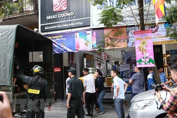 [Video] Bat tam giam tong giam doc cong ty Nhat Cuong va 8 dong pham hinh anh 1