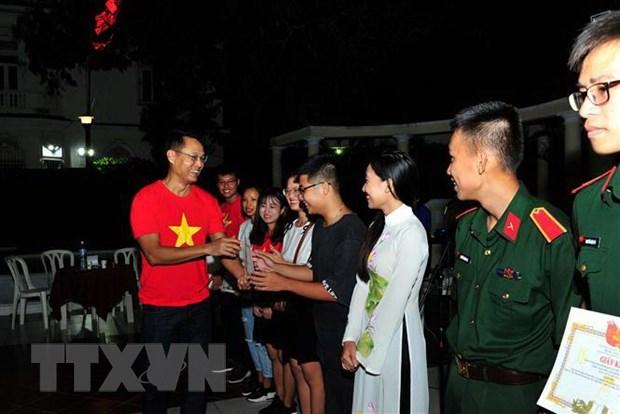 Thanh nien Viet Nam tai Cuba nguyen di theo con duong cua Bac hinh anh 3