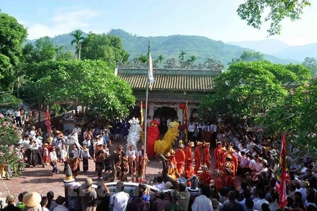 Quang Ngai: Nhieu hoat dong dac sac tai le hoi Dien Truong Ba hinh anh 1