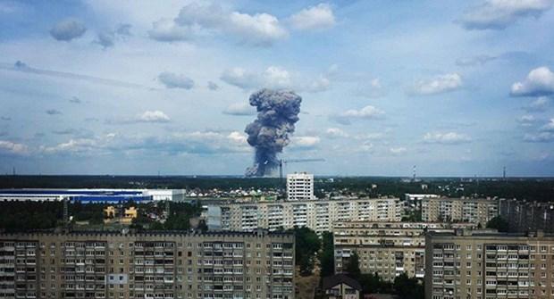Nga: So nan nhan trong vu no nha may san xuat thuoc no TNT tang manh hinh anh 1