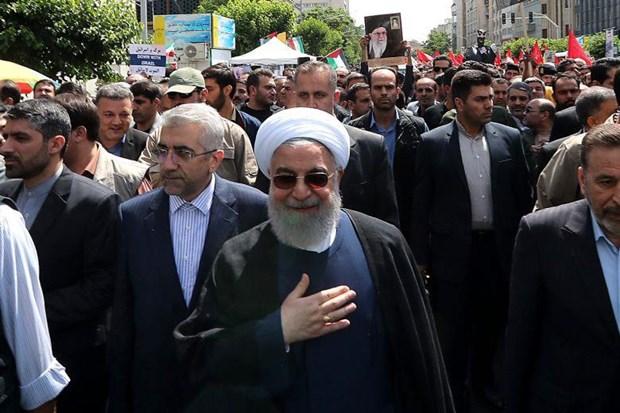 Tong thong Iran Hassan Rouhani de ngo kha nang dam phan voi My hinh anh 1
