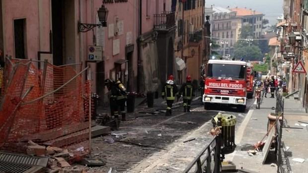 Italy: Nổ khí ga tại tòa thị chính ở ngoại ô Rome, 9 người bị thương