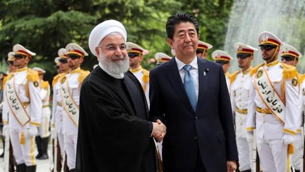 Thu tuong Nhat Ban Shinzo Abe coi trong moi quan he voi Iran hinh anh 1
