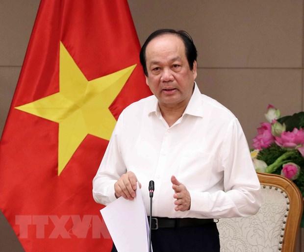 Bo truong Mai Tien Dung: Ung dung manh me xu ly ho so tren nen dien tu hinh anh 1