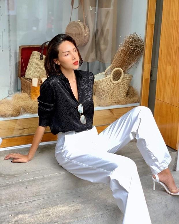 Diep Lam Anh bau bi van sexy, Chi Pu va Minh Hang goi cam het muc hinh anh 7
