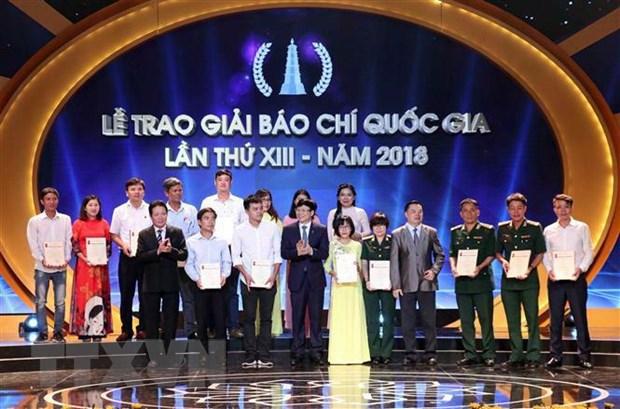Giai bao chi quoc gia 2018: Ton vinh nhung nguoi lam bao vi cong dong hinh anh 2