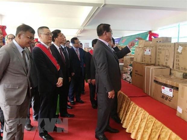 Tang qua tri gia 1 trieu USD cho nganh giao duc Campuchia hinh anh 2