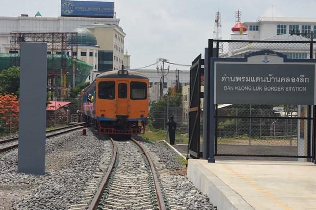 Thai Lan mo lai dich vu duong sat tu Bangkok toi bien gioi Campuchia hinh anh 1