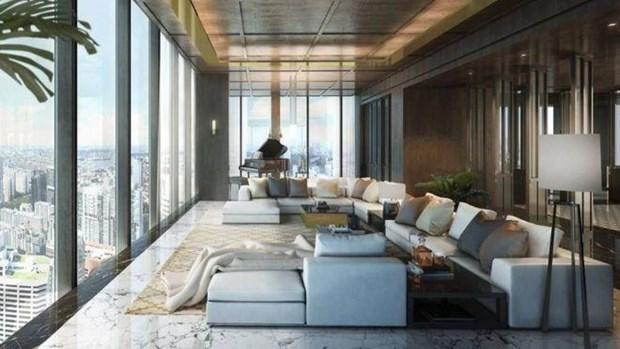 Can ho penthouse lon va dat gia nhat Singapore da co chu moi hinh anh 1