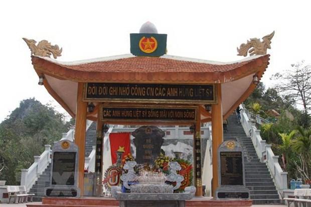 Ha Giang truy dieu, an tang hai cot liet sy tai nghia trang Vi Xuyen hinh anh 1