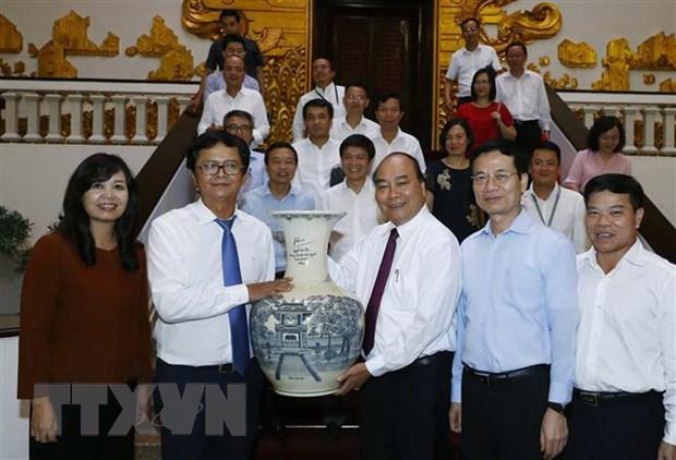 Thu tuong: VTV phai la kenh thong tin tien phong, uy tin hinh anh 1