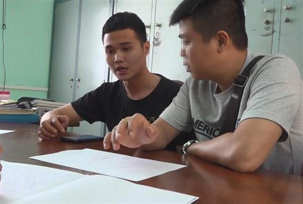 """[Video] Xet xu """"tu ong"""" dieu hanh duong day a hau ban dam nghin do hinh anh 1"""