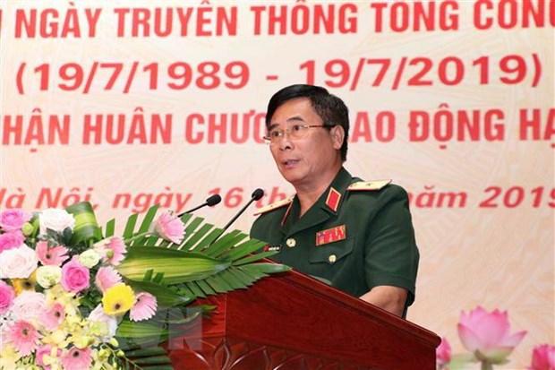 Tong cong ty 789 don nhan Huan chuong Lao dong hang Nhat hinh anh 1