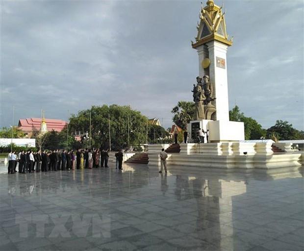Dang huong tri an cac liet sy quan tinh nguyen Viet Nam tai Campuchia hinh anh 3