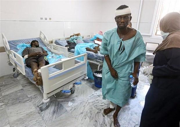 Hon 100 nguoi thuong vong trong vu khong kich o mien Nam Libya hinh anh 1