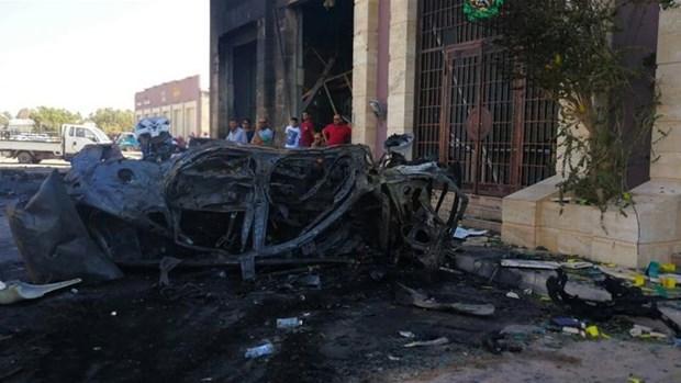 Danh bom xe o Libya, 2 nhan vien Lien hop quoc thiet mang hinh anh 1