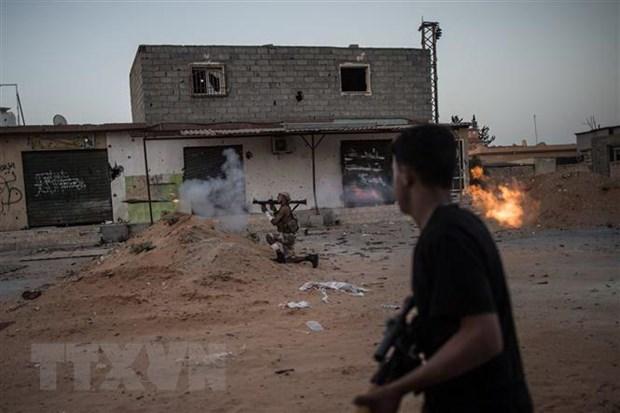 Libya: Tuong Haftar nhat tri voi thoa thuan ngung ban do LHQ hau thuan hinh anh 1