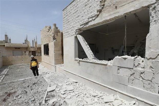 Syria: Quan chinh phu va luc luong noi day giao tranh dien ac liet hinh anh 1