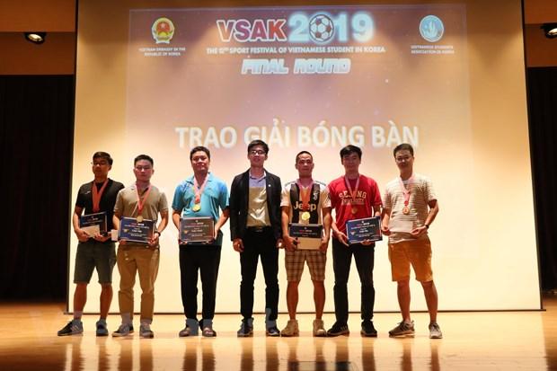800 sinh vien Viet Nam tai Han Quoc tham gia dai hoi the thao SFVSAK12 hinh anh 2