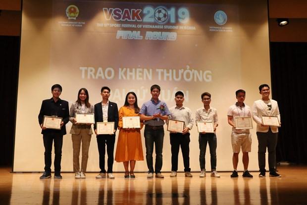 800 sinh vien Viet Nam tai Han Quoc tham gia dai hoi the thao SFVSAK12 hinh anh 3