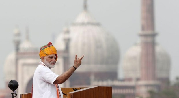 Thu tuong Modi: An Do dat muc tieu tro thanh nen kinh te 5.000 ty USD hinh anh 1