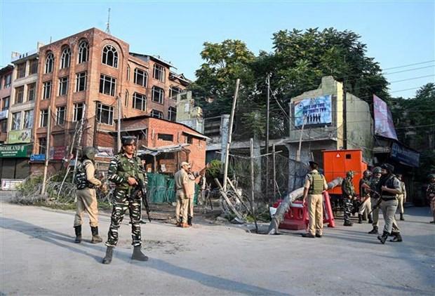 An Do tang cuong an ninh tai Kashmir doi pho cac vu bieu tinh hinh anh 1