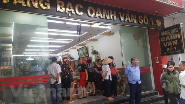Vinh Phuc dieu tra vu cua hang vang bac huy dong von trai quy dinh hinh anh 1