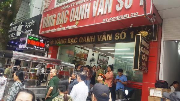 Vinh Phuc dieu tra vu cua hang vang bac huy dong von trai quy dinh hinh anh 2