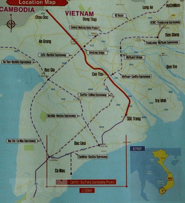 De xuat chinh huong du an cao toc Chau Doc-Can Tho-Soc Trang hinh anh 2