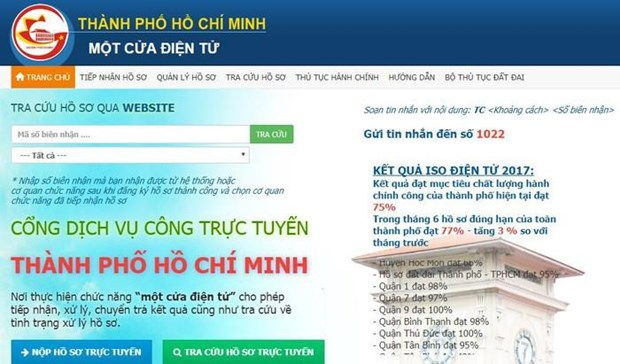 Thanh pho Ho Chi Minh no luc don gian hoa thu tuc cai cach hanh chinh hinh anh 2