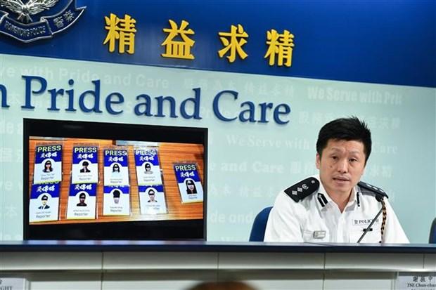 Chinh quyen Hong Kong: Khong co nguoi bieu tinh tu vong 3 thang qua hinh anh 1