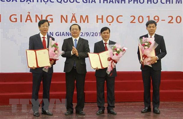 Truong Dai hoc An Giang chinh thuc thuoc Dai hoc Quoc gia TP. HCM hinh anh 1