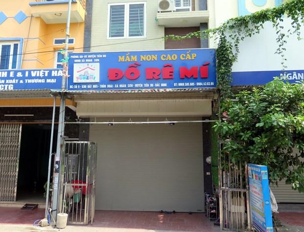 Cong an Bac Ninh thong tin vu be 3 tuoi bi bo quen tren xe dua don hinh anh 1