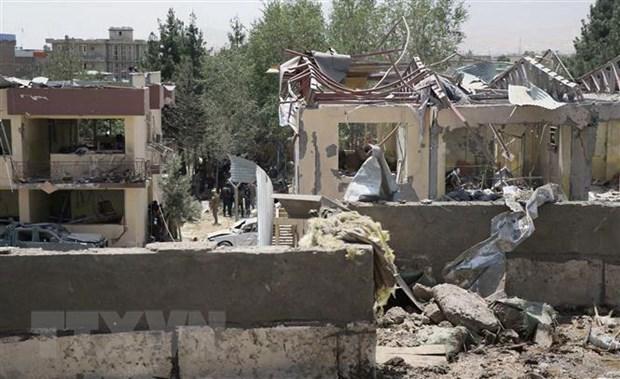 Afghanistan: Taliban tan cong tru so canh sat, 11 nguoi thiet mang hinh anh 1